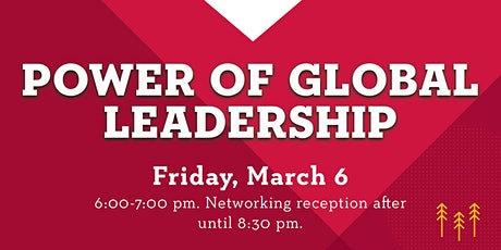 Power of Global Leadership tickets