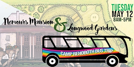 CAMP Rehoboth Spring Bus Trip of Mansions and Gardens tickets