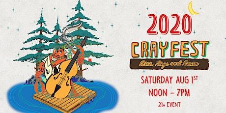 Crayfest 2020 tickets