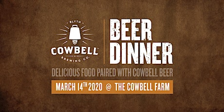 Cowbell Beer Dinner tickets