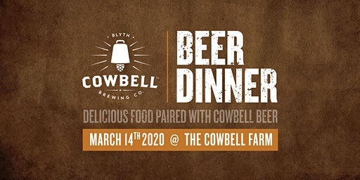 Cowbell Beer Dinner