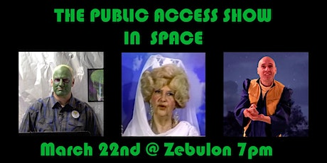 The Public Access Show in Space tickets
