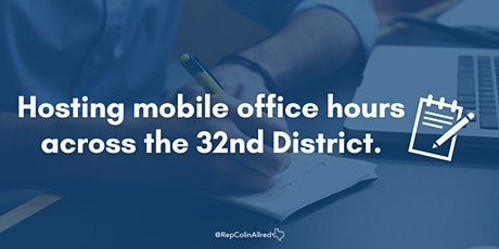 Rep. Colin Allred's Mobile Office Hours -  Wylie tickets