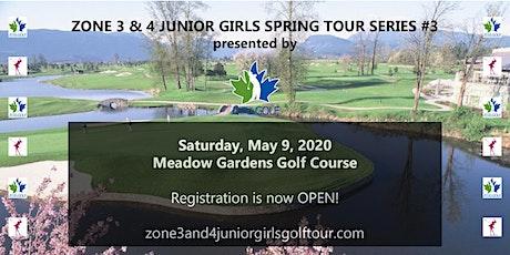 Zone 3 & 4 Junior Girls Spring Tour Series #3 tickets