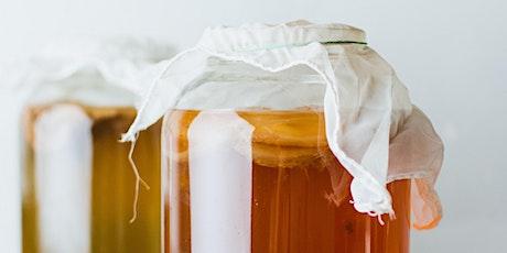 VALK Fermentation chez CIELO: Atelier de KOMBUCHA et fermentation billets