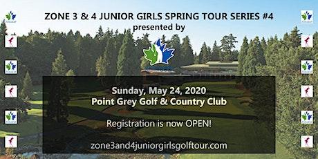 Zone 3 & 4 Junior Girls Spring Tour Series #4 tickets