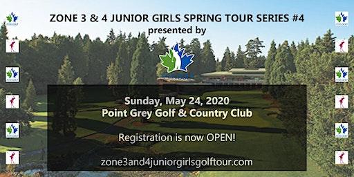 Zone 3 & 4 Junior Girls Spring Tour Series #4