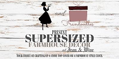 Farmhouse Decor Supersized Workshop