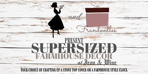 Farmhouse Decor Supersized Workshop