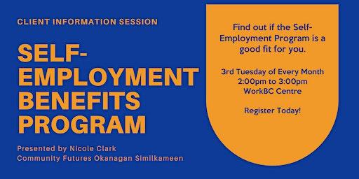 WorkBC Self-Employment Benefits Program Information Session