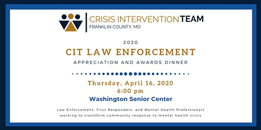 CIT Law Enforcement Awards and Appreciation Dinner