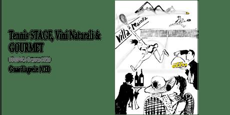 Tennis Stage, Vini Naturali & Gourmet a Guardiagrele biglietti