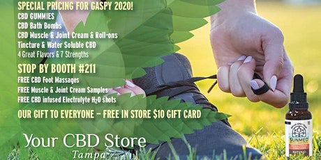 Official Gasparilla Recovery Booth#211 YourCBDStore TAMPA tickets