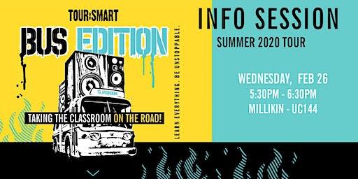 Tour:Smart Bus Edition Info Session