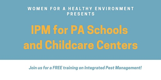 Integrated Pest Management for Schools: A Training Workshop