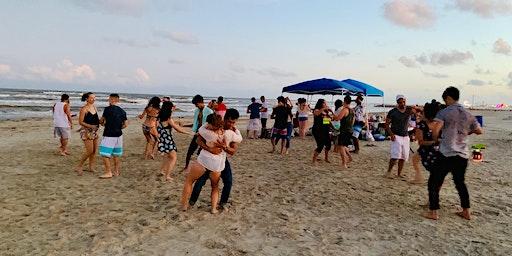 Beachata! Bachata on the Beach on Sunday! Porreto Beach 03/08