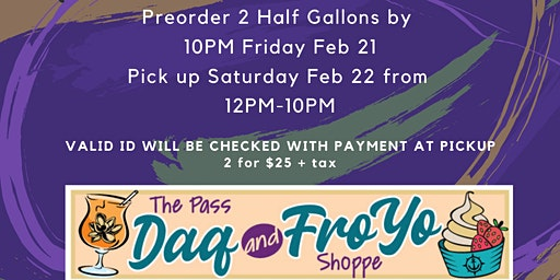 Pass Parade Daq Pre Order