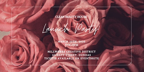 Clean Beauty House Launch Party tickets