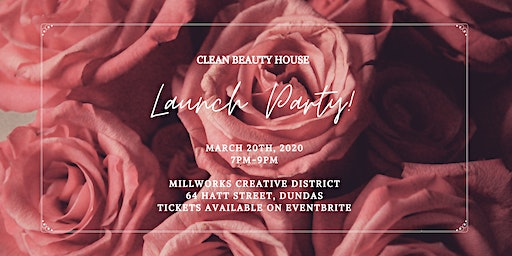 Clean Beauty House Launch Party