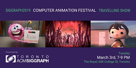 SIGGRAPH 2019 Computer Animation Festival Travelling Show tickets