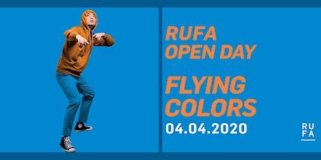 RUFA Open Day | 4 aprile 2020 biglietti