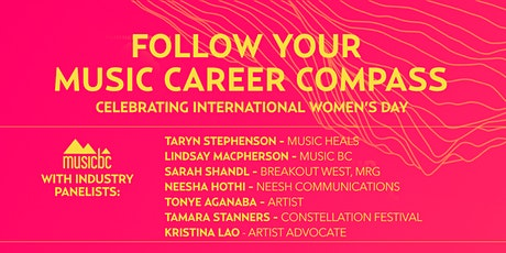 Follow Your Music Career Compass - International Women's Day Industry Panel tickets