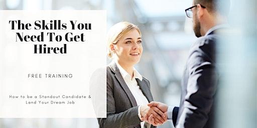 TRAINING: How to Land Your Dream Job (Career Workshop) Chula Vista, CA