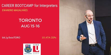 Career BOOTCAMP for Interpreters in Toronto tickets
