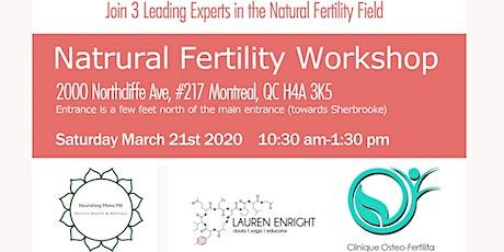 Natural Fertility Workshop tickets