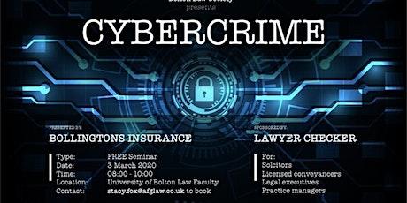 Cybercrime Seminar tickets