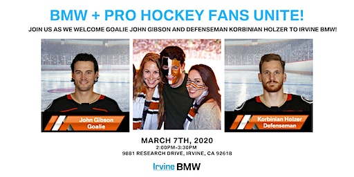 Irvine BMW's Pro Hockey Meet and Greet!