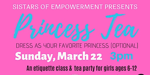 Princess Tea for girls
