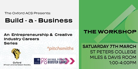 Build - a - Business:  Innovation for Impact  Workshop tickets