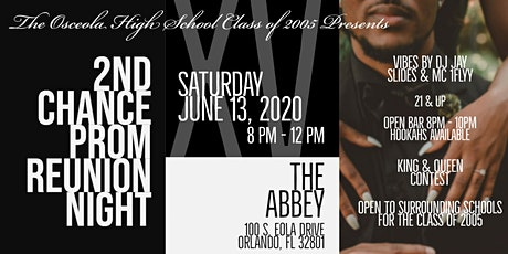 Class of '05 2nd Chance Prom Reunion Night tickets