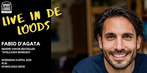 Live in de Loods: Fabio D'Agata