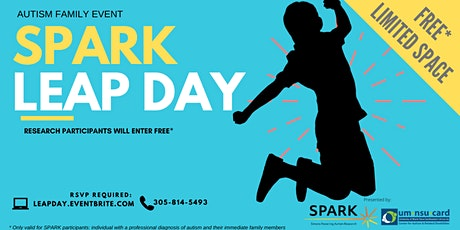 SPARK Leap Day | Autism Family Event tickets