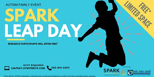 SPARK Leap Day | Autism Family Event