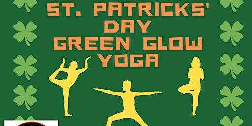 St. Patty's Day Green Glow Yoga