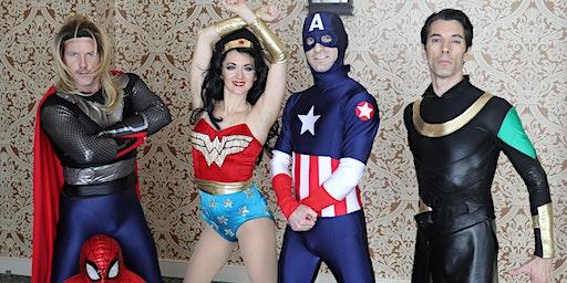 Saturdays Are For Kids: Superhero Acrobats