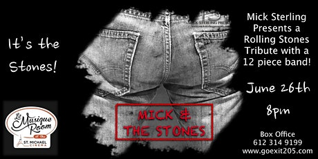 Mick and the Stones : a Rolling Stones tribute by tickets