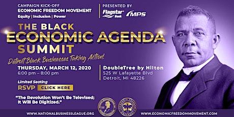 The Black Economic Agenda Summit tickets