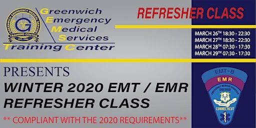 Winter 2020 EMT/ EMR Refresher Class