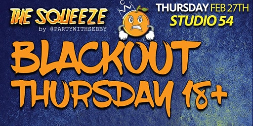 Blackout Thursday by The Squeeze