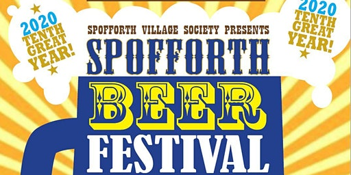 Spofforth Beer Festival 6-7 March 2020
