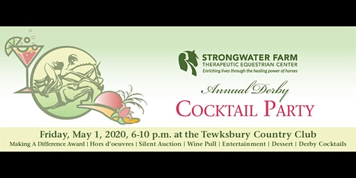 Strongwater Farm Annual Derby Cocktail Party Celebrating Jacquie Moloney