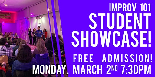 Improv 101 Student Showcase!