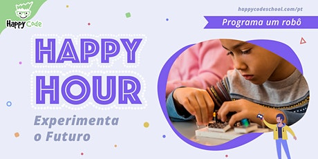 Workshop LEGO WeDo - 7 / 12 anos (Happy Code Campo Ourique) bilhetes