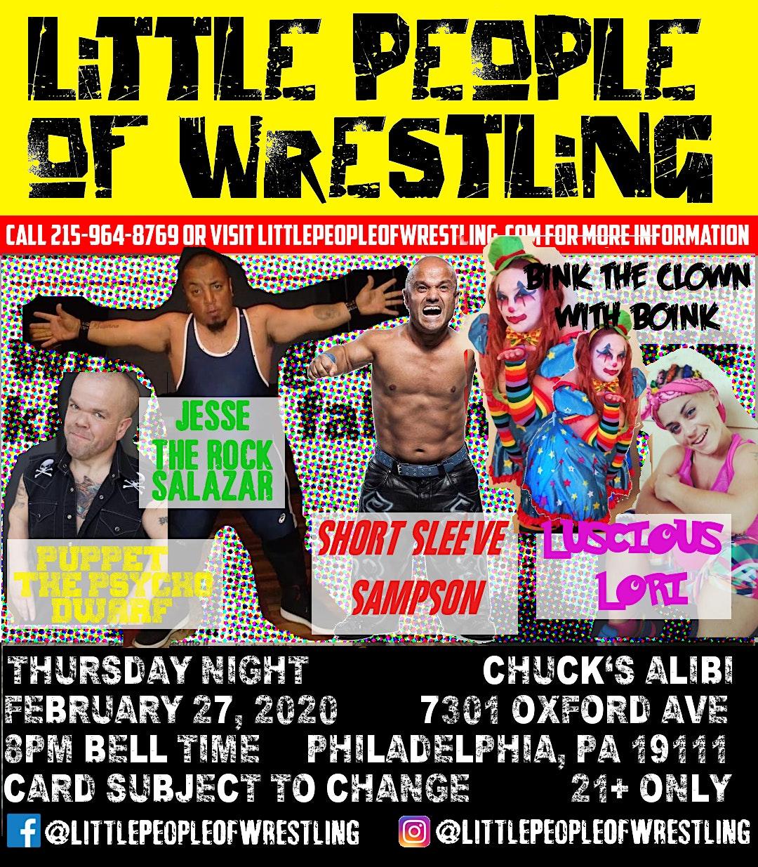 Little People of Wrestling
