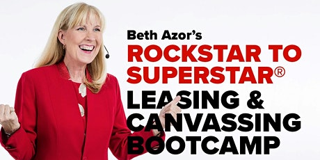 Rockstar to Superstar Leasing & Canvassing Bootcamp - August 13 tickets