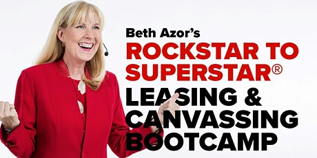 Rockstar to Superstar Leasing & Canvassing Bootcamp - November 5 tickets